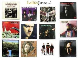 Leilão Online de Discos em Vinil