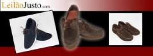 Leilão de Sapatos de Vela em Camurça