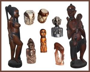 Leilão Online de Arte Africana e Diversos