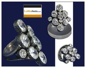 Leilão Online Especial de Anéis em Prata