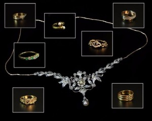 Leilão Online Anéis em Ouro e Pedras Preciosas
