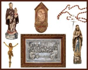 Leilão Online Especial 13 de Maio - Arte Sacra
