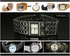 Leilão Online de Relógios de Pulsos de Grandes Marcas