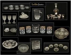 Leilão Online de Peças de Cristal e Vidro