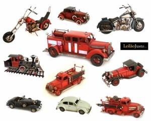 Leilão Online de Carros Decorativos (Louças Falcão, Lda)