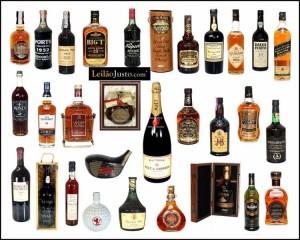 Leilão Especial Online de Vinhos e Bebidas Espituosas