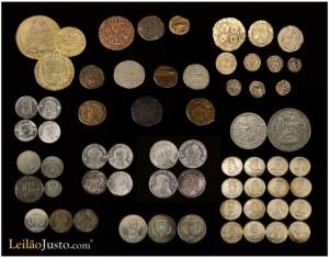 Leilão Online de Moedas e Medalhas em Prata e Niquel