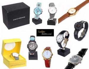 Leilão Online de Relógios de Grandes Marcas