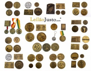 Leilão Online de Medalhas Comemorativas