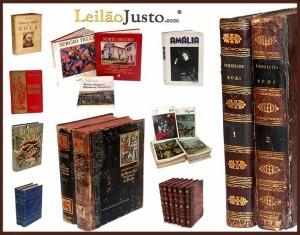 Leilão Online de Livros Antigos