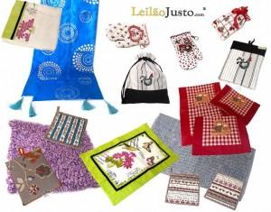 Leilão Online Têxteis-Lar