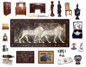 Leilão Online de Antiguidades e Curiosidades
