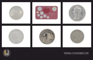 Leilão Online de Numismática