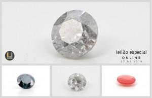 Leilão Online Especial Pedras Preciosas Março 2019