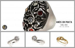 Leilão Especial Anéis em Prata