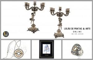 Leilão Online de PRATAS & ARTE Março 2020