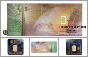 Leilão Online de Lingotes de Ouro Fino 999.9 Março 2020