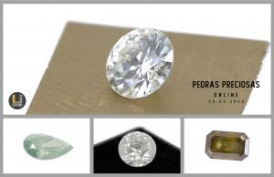 Leilão Online de Pedras Preciosas de Março 2020