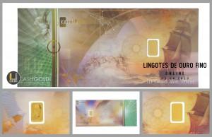 Leilão Online de Lingotes de Ouro Fino 999.9 Abril 2020