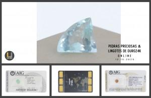 Leilão Online de Ouro Fino e Pedras Preciosas Outubro 2020