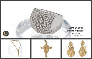 Leilão Online Jóias em Ouro, Ouro de 24K & Pedras Preciosas 24 Jan 2021