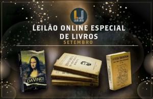 Grande Leilão Online Especial LIVROS Setembro 2021