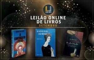 Leilão Online de LIVROS de Setembro 2021