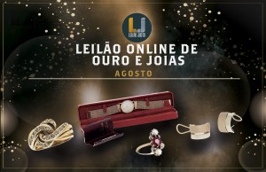 Leilão Online de Ouro AGOSTO 2021