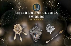 Leilão Online de Joias em OURO de Setembro de 2021