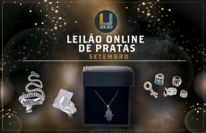 Leilão Online de PRATA de SETEMBRO 2021