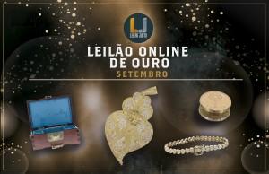 Leilão Online de OURO de Setembro de 2021