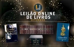 Leilão Online de LIVROS - Setembro 2021