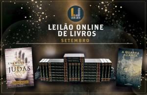 Leilão Online de Livros SETEMBRO 2021