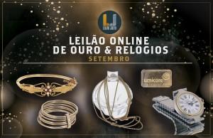 Leilão Online de Ouro & Relógios de Setembro 2021