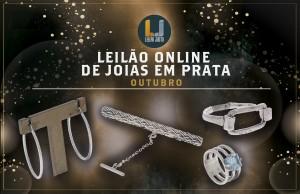 Leilão Online de Jóias em Prata - OUTUBRO 2021