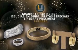 Grande Leilão Online de JOIAS EM OURO, PRATAS ESPECIAIS & PEDRAS PRECIOSAS - Outubro 2021